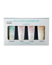 Lacura Hot Cloth Cleanser Gift Set