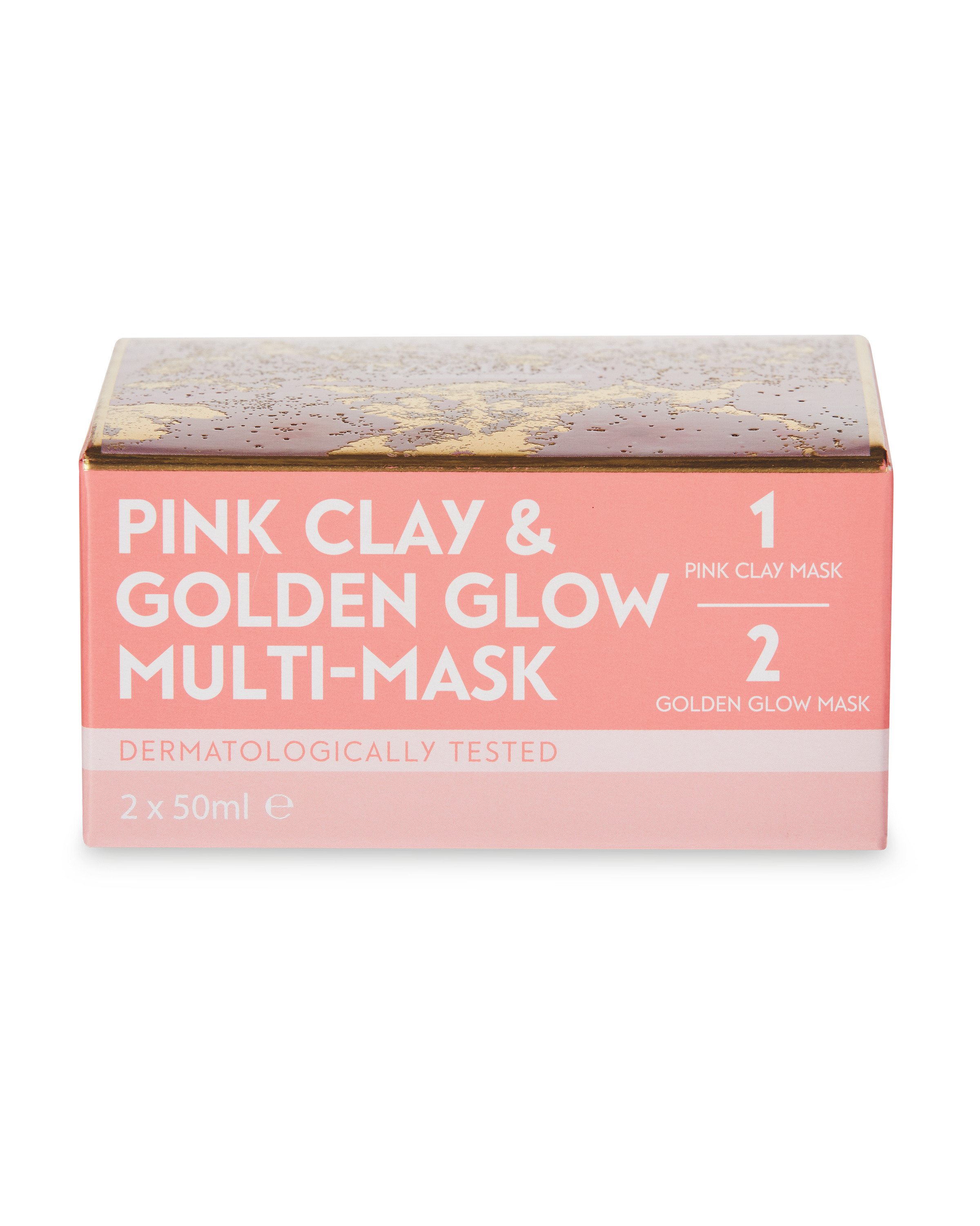 Lacura Pink Clay Golden Glow Mask