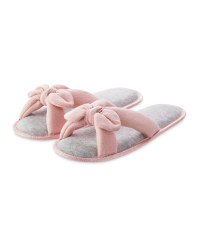 Ladies' Avenue Bow Slippers