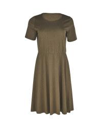 Ladies' Avenue Olive Jersey Dress