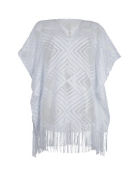 Ladies' Beach Kaftan - White