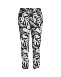 Ladies' Black & White Trousers