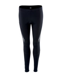 Ladies' Black Cycling Tights