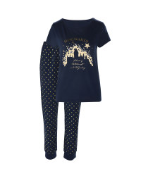 Ladies' Blue Hogwarts Pyjamas