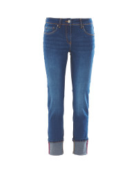 Ladies' Blue Outdoor Jeans