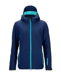 Ladies' Blue Ski Pro Jacket