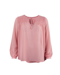 Ladies' Boho Top - Pink