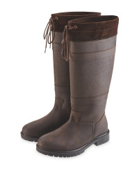 Crane Brown Ladies' Country Boots