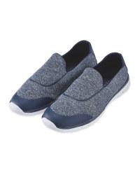 Ladies' Comfort Shoe - Navy