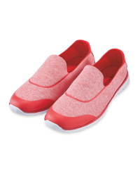 Ladies' Comfort Shoe - Red