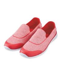 Ladies' Comfort Shoe - Red