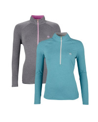 Ladies' Zip-Neck Top