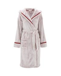 Ladies' Dressing Gown - Burgundy