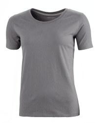 Ladies' Fairtrade Cotton T-Shirt - Charcoal