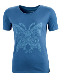 Ladies' Fairtrade Cotton T-Shirt - Indigo