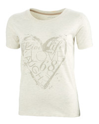 Ladies' Fairtrade Cotton T-Shirt - Oatmeal