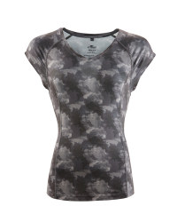 Ladies' Fitness T-Shirt - Grey