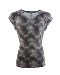Ladies' Fitness T-Shirt - Grey