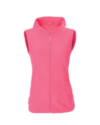 Ladies' Fleece Gilet - Pink