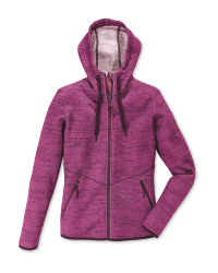 Ladies' Fleece Jacket - Pink