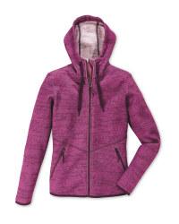 Ladies' Fleece Jacket - Pink