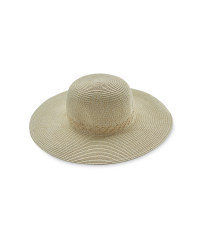 Ladies' Floppy Hat with Plait Detail