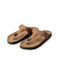 Ladies' Footbed Toe Peg Sandals