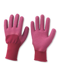 Gardenline Ladies' Gardening Gloves - Bordeaux