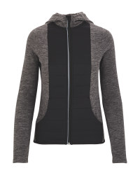 Ladies' Grey Fitness Jacket
