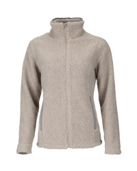 Crane Ladies' Heavy Fleece Jacket