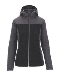 Ladies' Hybrid Knitted Sports Jacket