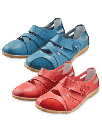 Ladies' Leather Strap Shoes