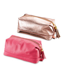 Avenue Ladies' Leather Washbag