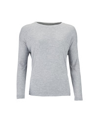 Ladies' Long Line Top - Grey