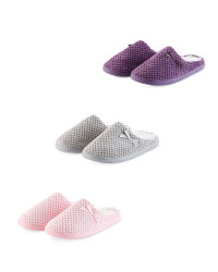 Ladies' Memory Foam Slippers