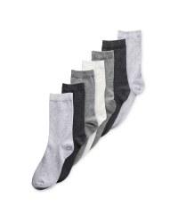 Ladies' Multi Socks 7 Pack 4-8