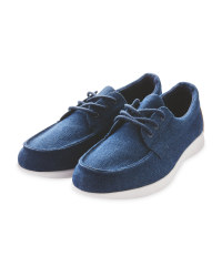 Ladies' Denim Comfort Deck Shoes
