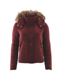 Ladies' Padded Jacket - Fig
