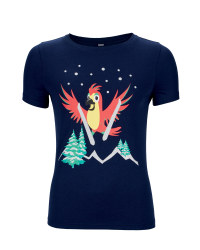 Ladies' Parrot Print T-Shirt