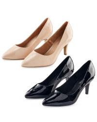 Ladies' Patent Court Shoes