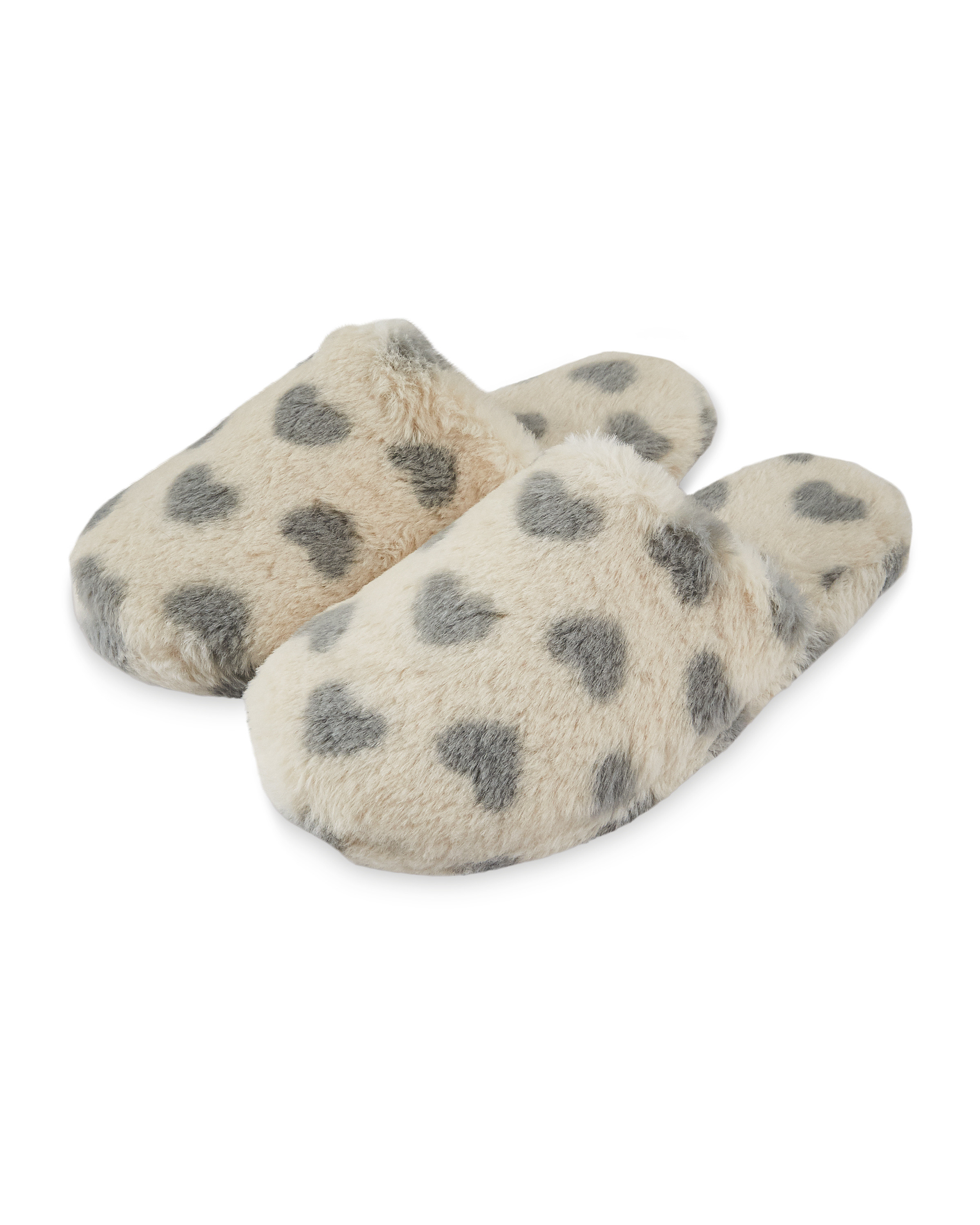 Ladies' Pattern Fluffy Slippers