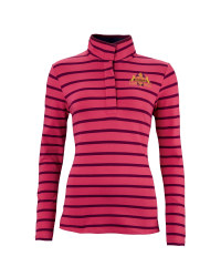 Ladies' Pink Stripe Sweater