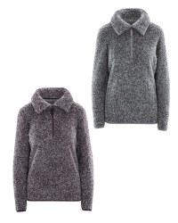 Crane Ladies' Plush Fleece