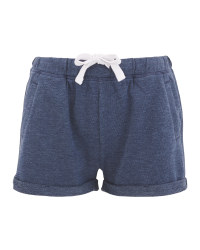Avenue Ladies' Blue Sweatshorts