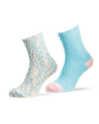 Ladies' Pop Corn Lounge Socks