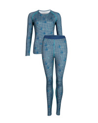 Ladies' Print Sports Base Layer Set