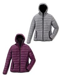 Ladies' Quilted Reversible Jacket