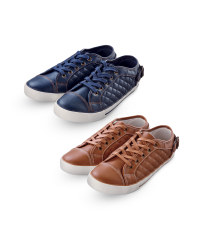 Ladies' Quilted Trainers