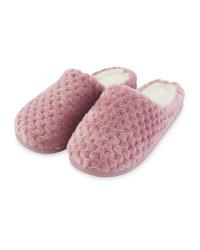 Ladies' Rose Memory Foam Slippers