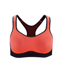 Ladies' Running Sports Bra - Coral